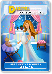 Digital pregnancy card 2
